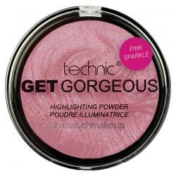 Technic Get Gorgeous Highlighting Powder ~ Pink Sparkle