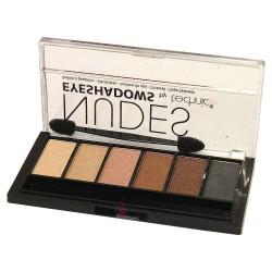 Technic Six Colour Eyeshadow Palette ~ Nudes