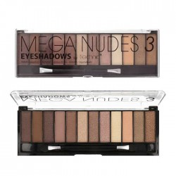 Technic Mega Eyeshadow Palette ~ Mega Nudes 3
