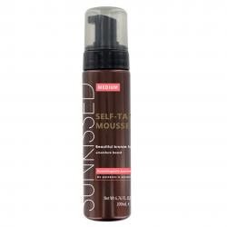 Sunkissed Medium Bronze Instant Self Tanning Mousse 200ml