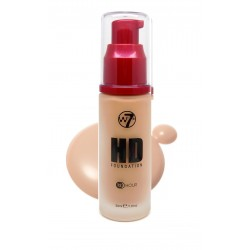 W7 HD Foundation ~ Natural Beige